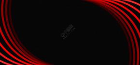 红黑商务大气名片背景
