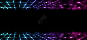 黑色光晕商务科技名片背景