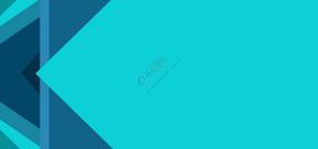 绿色几何商务名片背景