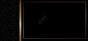 黑色高端大气商务名片背景