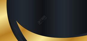 黑金高端大气商务名片背景