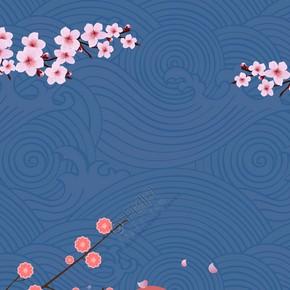 日本旅游女孩背景