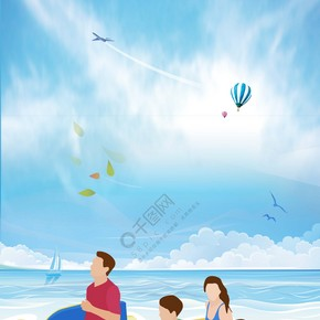 外滩游玩旅游海报