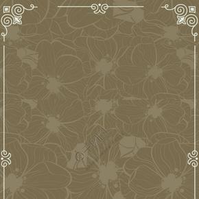 欧式复古花纹边框背景