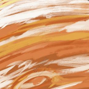 橙色水彩渐变底纹背景