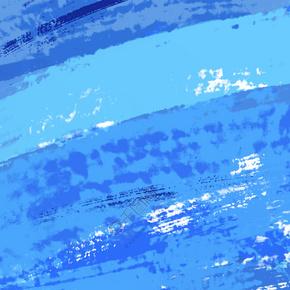 蓝色水彩渐变底纹背景