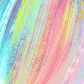 彩虹色水彩渐变底纹背景