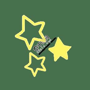 黄色星星元素