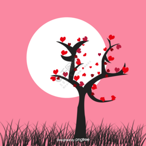 tree leaves heart免费下载