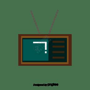 卡通家电图标电视