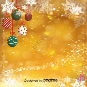 金色圣诞贺卡