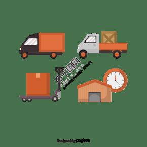 國際物流和運輸材料