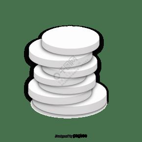 3d作用薄饼箱子传染媒介