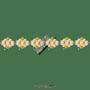 蕾丝宝石边框纹理4