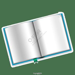 空白書籍模板psd材料