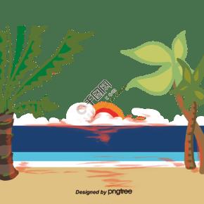 亚热带海滩