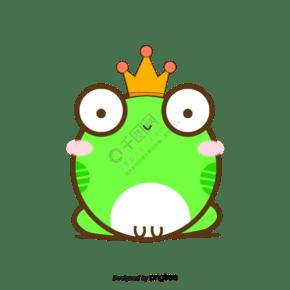 矢量青蛙王子材料