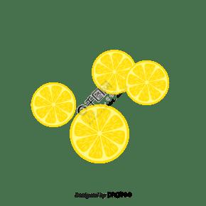 矢量淡黄色香蕉片香蕉干