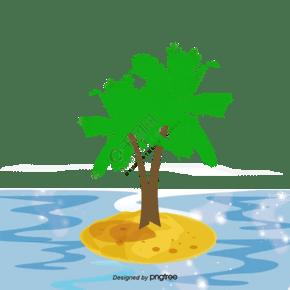 島卡通矢量