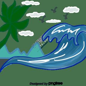 椰子樹卡通