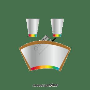 紙杯擴展圖紙