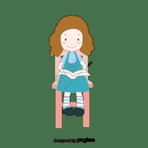 坐在椅子上的那個女孩