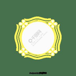 绿色欧洲花边标题框