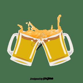 啤酒霓虹燈慶祝發光酒杯