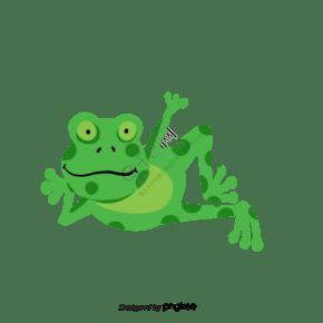 手绘青蛙clipart