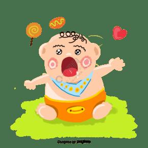 手绘可爱宝宝形象