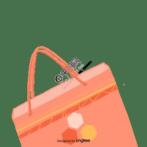 卡通风格手提袋购物袋