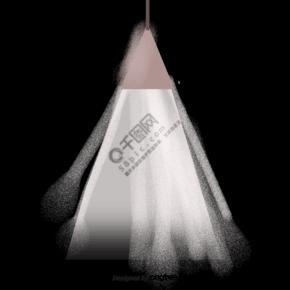 卡通发光的吊灯