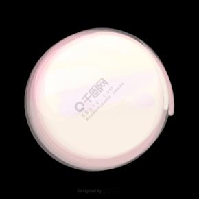 发白光的圆形装饰
