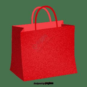 紅色的超市購物袋