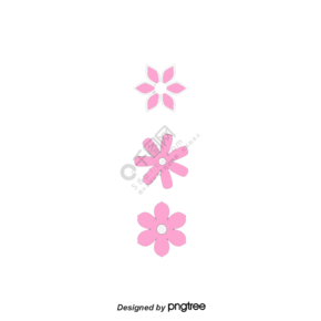 粉色花朵圖案植物