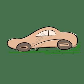 轎車的抽象圖形