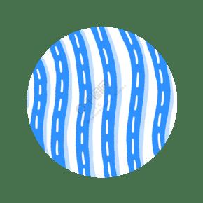 青花瓷 花紋 底紋 分層圖