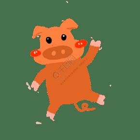 亨亨小豬高清可愛動漫寵物電腦筆記本壁紙