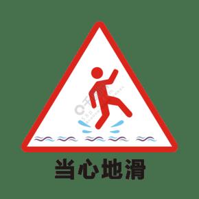 湿地板警示背景