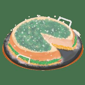 創意蛋糕CDR矢量設計模板