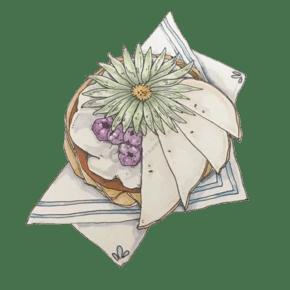 原創手繪美味食物