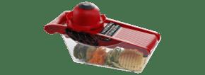 红色蔬菜处理器实物