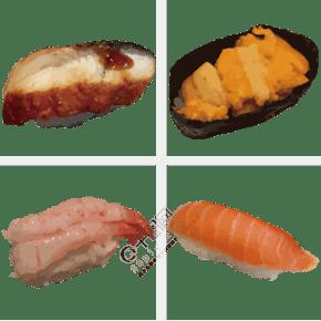 手繪菜單食品圖形