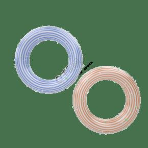 C4D彩虹甜甜圈立体