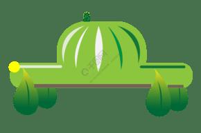 地球環保汽車插畫
