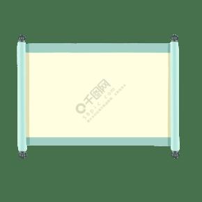 中式卷軸手繪邊框