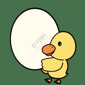 鴨鴨抱鴨蛋便利貼
