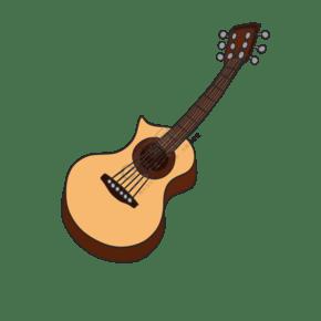 樂器班歌唱手繪素材