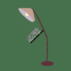 手绘卡通吊灯落地灯