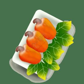 果 零食 食品 果仁 腰果三個一排